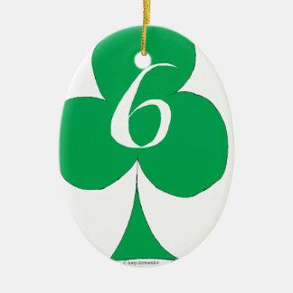 Glückliche Iren 6 der Vereine, tony fernandes Keramik Ornament