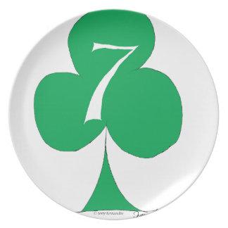 Glückliche Iren 7 der Vereine, tony fernandes Teller