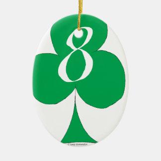 Glückliche Iren 8 der Vereine, tony fernandes Keramik Ornament