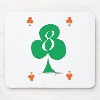 Glückliche Iren 8 der Vereine, tony fernandes Mauspads