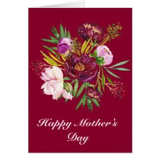 Glückliche Karte der Mutter Tages