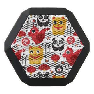 Glückliche Katze, Drache und Panda der China Schwarze Bluetooth Lautsprecher