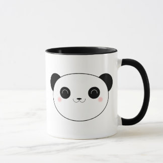Glückliche Kawaii Panda-Bärn-Tasse Tasse