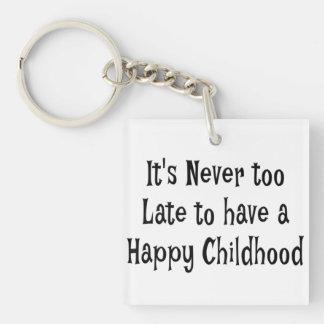 Glückliche Kindheits-Schlüsselkette Schlüsselanhänger