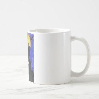 Glückliche klassische   weiße Tasse Halloweens