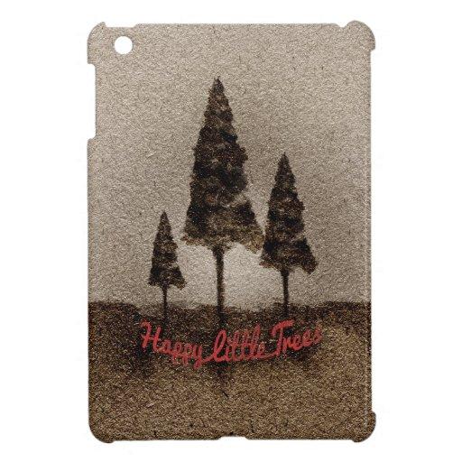 Glückliche kleine Bäume iPad Mini Hülle