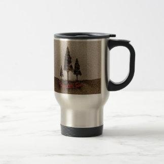 Glückliche kleine Bäume Teetasse