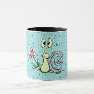 Glückliche kleine Schnecke-Tasse Tasse
