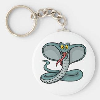 Glückliche Kobra Schlüsselanhänger