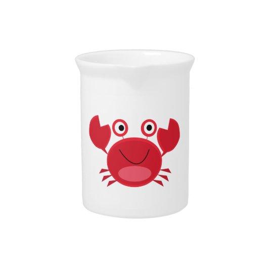 Glückliche Krabbe Krüge