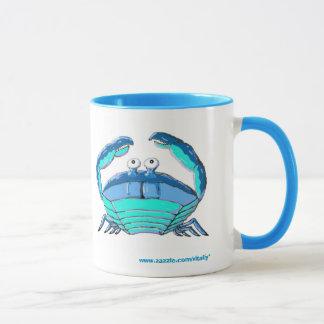 Glückliche Krabbenhoroskop-Zeichen-Tasse Tasse