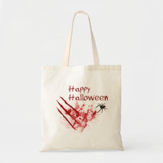 Glückliche Kratzer Halloweens Bloody - Tasche