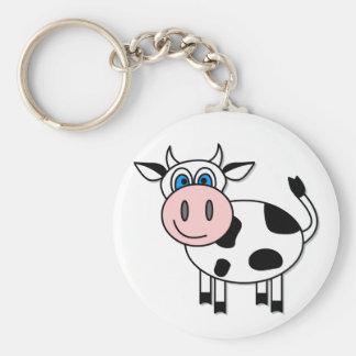Glückliche Kuh - kundengerecht! Schlüsselanhänger