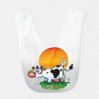 Glückliche Kuh Lätzchen