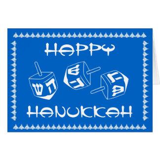 Glückliche kundengerechte Feiertags-Karte Karte