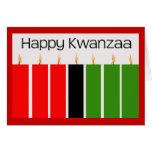 Glückliche Kwanzaa-Karte