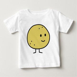 Glückliche lächelnde Pampelmusen-Früchte Baby T-shirt