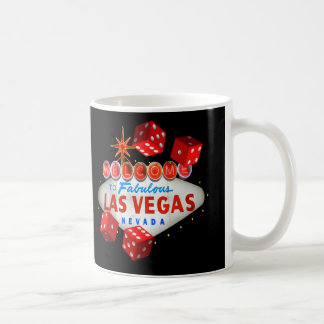 Glückliche Las- Vegaswürfel-Tasse Tasse