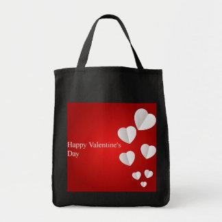 Glückliche Lebensmittelgeschäft-Taschen-Tasche des Einkaufstasche