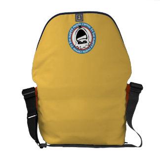 Glückliche Leute wählen Tasche Kurier Tasche