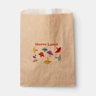 glückliche Mittagessenpilze Geschenktütchen