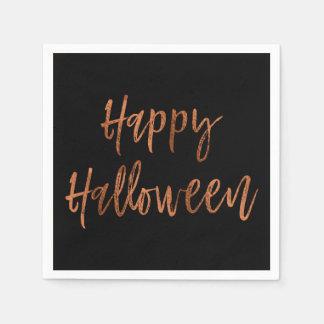 Glückliche moderne Halloween Servietten Halloweens