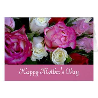 Glückliche Mutter-Tageskarte Karte