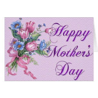 Glückliche Muttertageskarte Karte