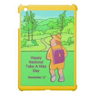 Glückliche nationale nehmen einen Wanderungs-Tag Hülle Für iPad Mini