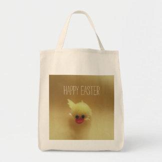 Glückliche niedliche Entlein-Tasche Ostern Tragetasche