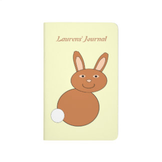 Glückliche Osterhasen-Gewohnheits-Zeitschrift Taschennotizbuch