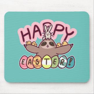 Glückliche Ostern-Trägheit Mousepads