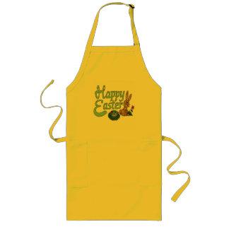 Glückliche Osternt-shirts und -geschenke Lange Schürze