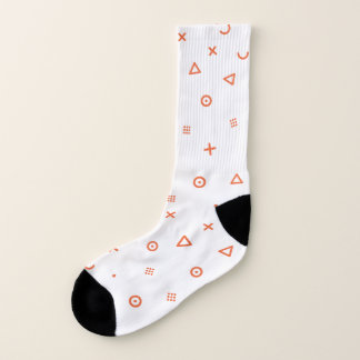 Glückliche Partikel Socken