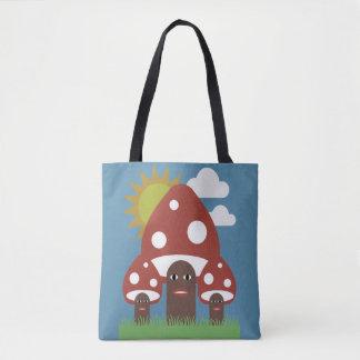 Glückliche Pilze Tasche