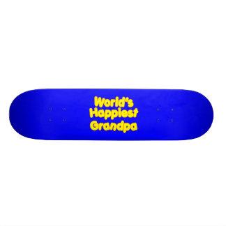 Glückliche positive großväterliche Weltglücklichst Personalisierte Skatedecks