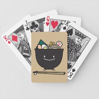 Glückliche Ramen-Schüssel Bicycle Spielkarten