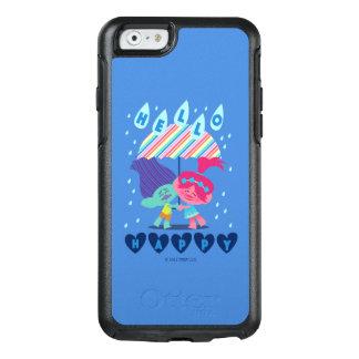 Glückliche Regen-Tropfen der Schleppangel-| OtterBox iPhone 6/6s Hülle