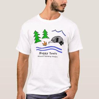 Glückliche Risse T-Shirt