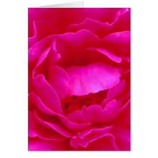 Glückliche Rosa-Rose der Mutter Tagesi Karte