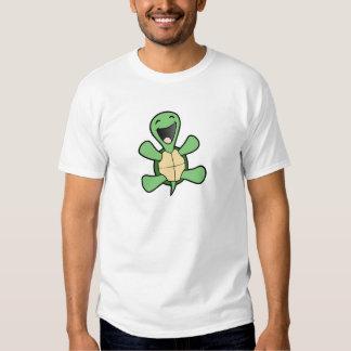 Glückliche Schildkröte Hemd