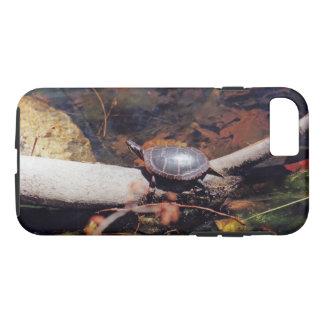 Glückliche Schildkröte iPhone 8/7 Hülle