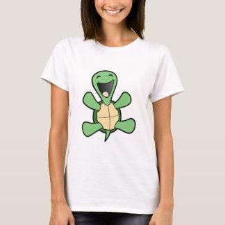 Glückliche Schildkröte T-Shirt