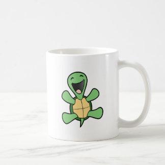 Glückliche Schildkröte Tasse