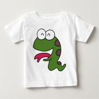 Glückliche Schlange Baby T-shirt
