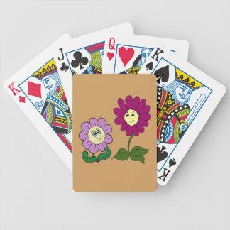 Glückliche Sonnenblumen Bicycle Spielkarten