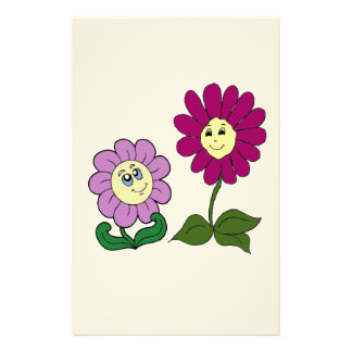 Glückliche Sonnenblumen Briefpapier