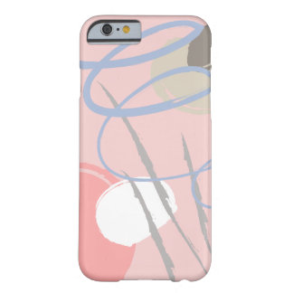Glückliche Stimmungsmuster-Telefon-Muschel Barely There iPhone 6 Hülle