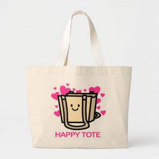 Glückliche Tasche