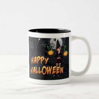 Glückliche Tasse Halloweens Skye